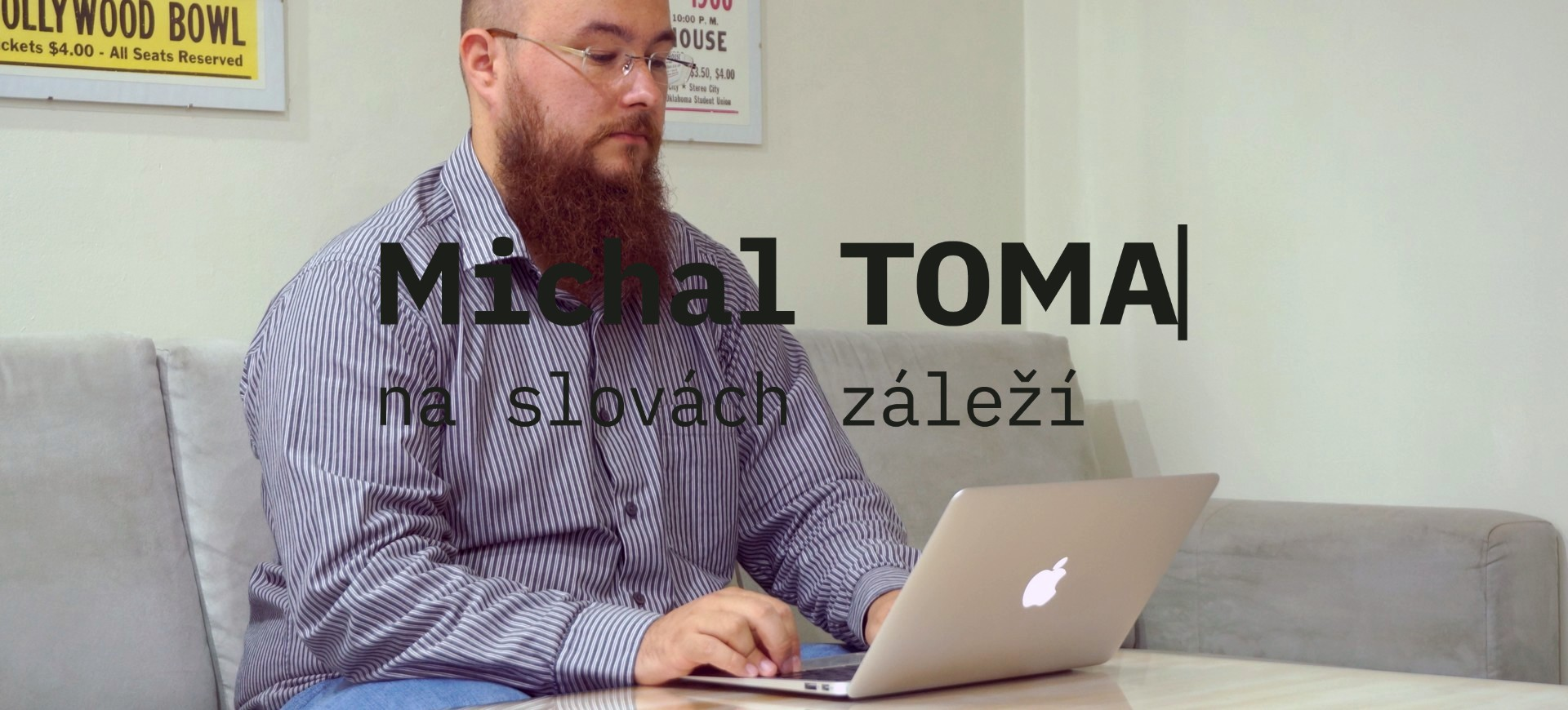 Michal Toma – copywriter a content writer